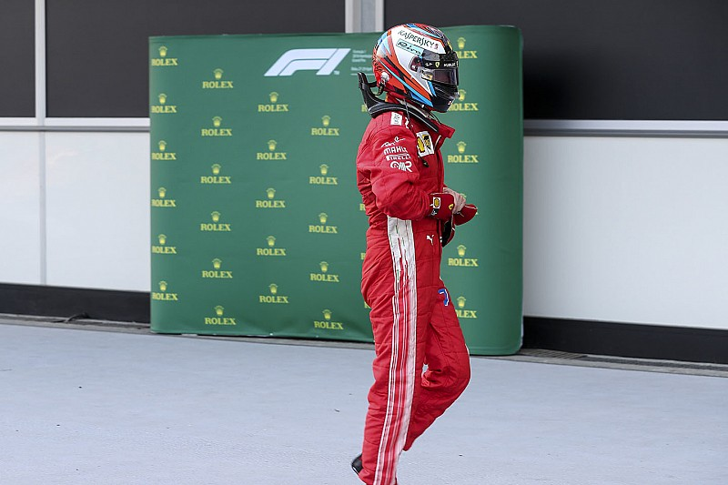 Райкконен мало не врізався в стіну перед стартом гонки в Баку