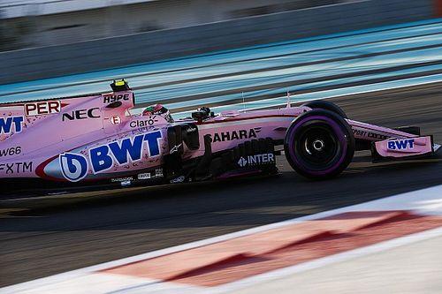 Force India pilotları testten memnun ayrıldı
