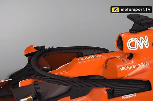 VIDEO: el Halo de McLaren