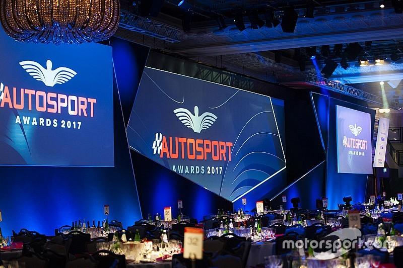 Прямая трансляция Autosport Awards 2017 года