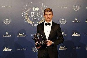 Verstappen é eleito Personalidade do Ano no FIA Award