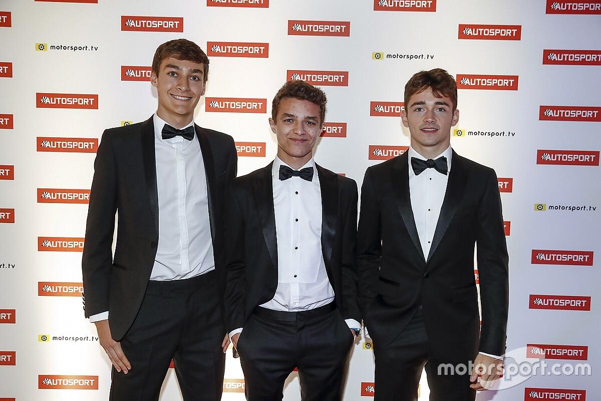 Mercedes-talent Russell blij met opkomst Verstappen, Ocon en Leclerc