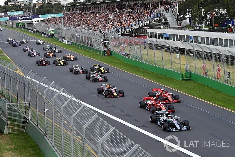 Formel 1 Melbourne 2018: Das Rennergebnis in Bildern