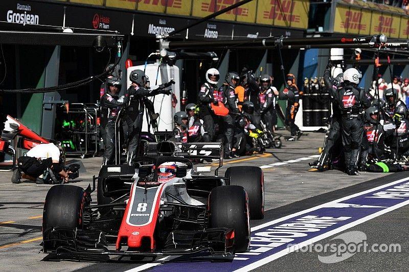 Haas pone énfasis en las paradas en pits tras los errores de Australia 2018