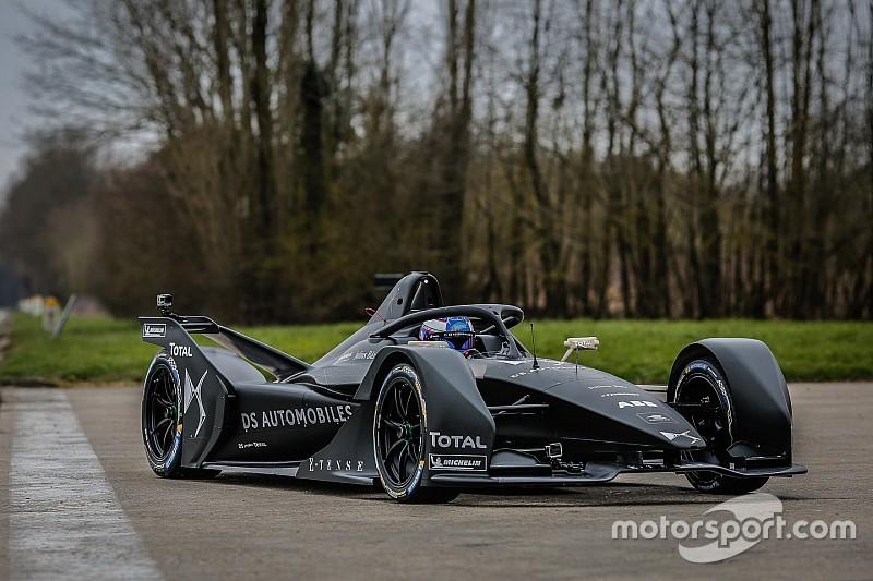 فريق دي اس يختبر سيارة الفورمولا إي الجديدة للمرة الأولى