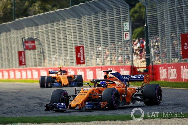 La mala pretemporada retrasó la introducción de mejoras en el McLaren