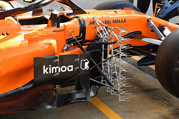 Latest F1 tech updates from Barcelona testing