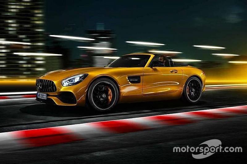 Mercedes-AMG GT S Roadster 2018, verano caliente...