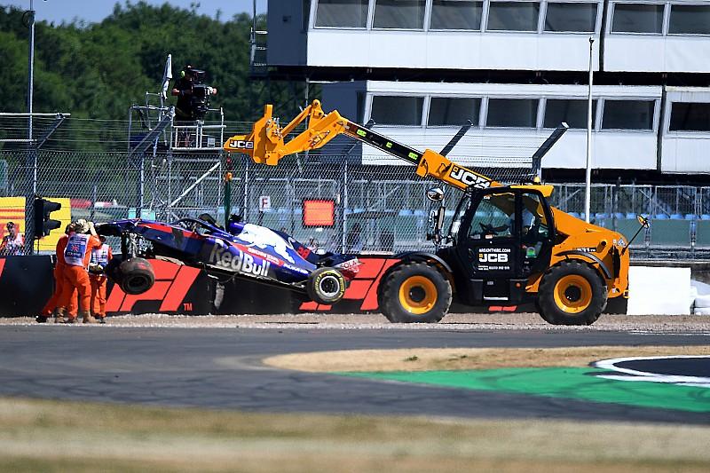 A Toro Rosso még nem tudja, mi okozta Hartley bukását Silverstone-ban