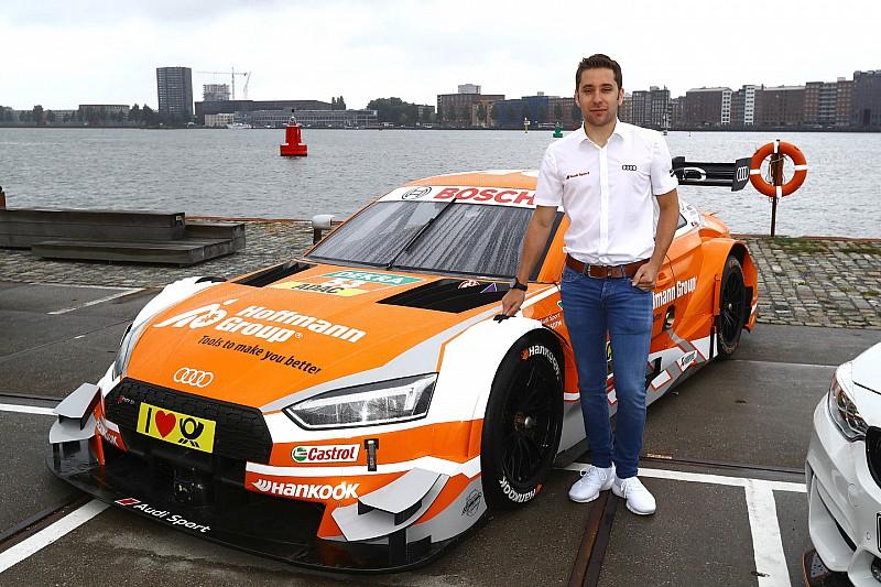Interview: Frijns houdt hoop op topklassering bij DTM Zandvoort
