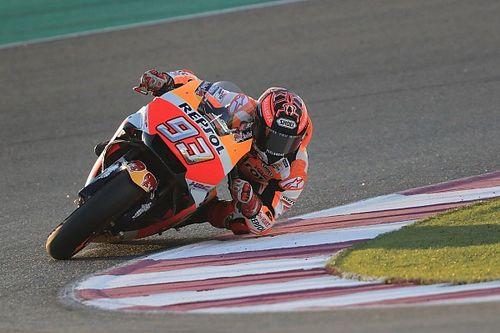 """Marquez: """"Sul giro secco le Ducati a Losail sono superiori a noi"""""""