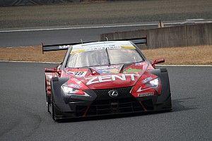 岡山でメーカーテストがスタート。初日はレクサス勢が速さを見せる