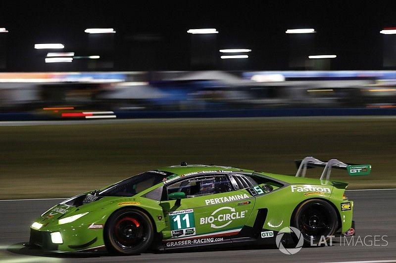 24 Ore di Daytona: Lamborghini domina la classe GTD con la Huracan