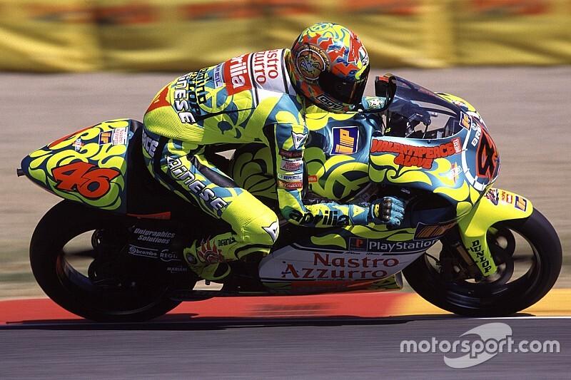 25 años en el mundial: todas las motos de Valentino Rossi