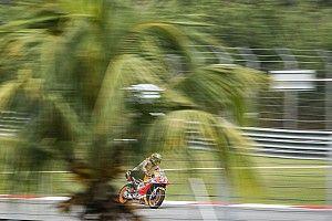Marquez mist nog het goede gevoel op eerste dag in Sepang