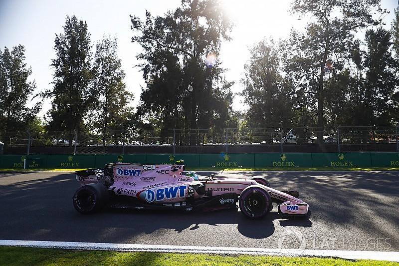 Force India ikilisi Meksika'daki ilk günden memnun ayrıldı