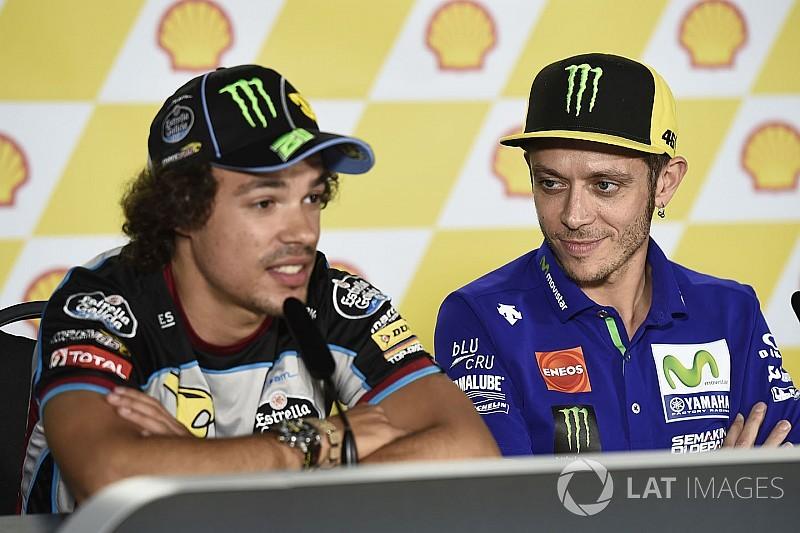 Valentino Rossi: Franco Morbidelli so stark wie Johann Zarco?