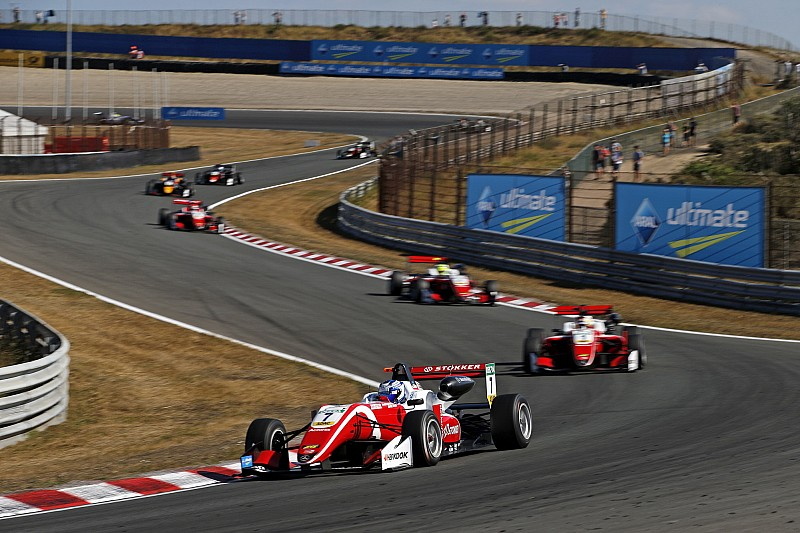 Zandvoort F3: Aron leads all Prema top-four