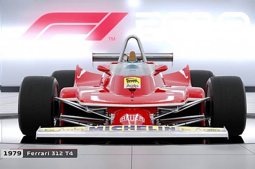 F1 2018 revela sus autos históricos