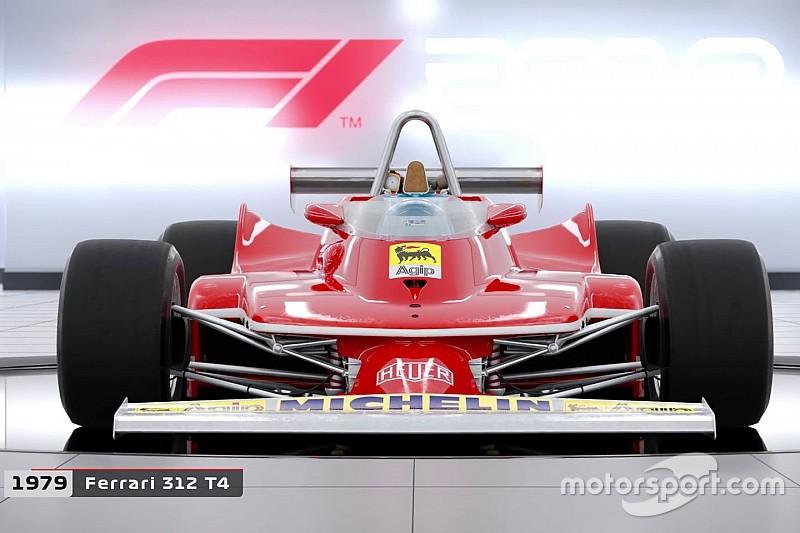 F1 2018 dévoile ses voitures historiques
