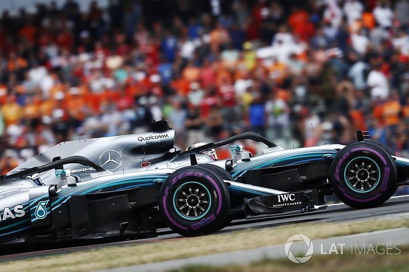 Bottas no juega el rol de apoyo de Hamilton en Mercedes