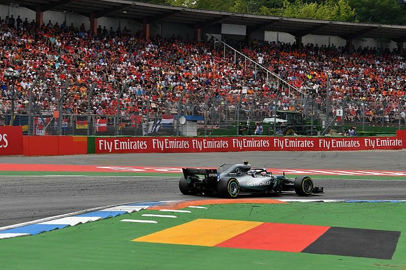 Hamilton és Bottas is kerülte az 1-es kanyar rázókövét Hockenheimben