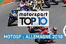 MotoGP Vidéo - Le top 10 du GP d'Allemagne