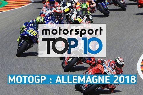 Vidéo - Le top 10 du GP d'Allemagne
