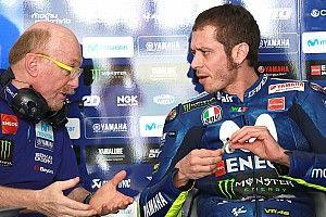 Rossi bantah inginkan kepala mekanik Vinales