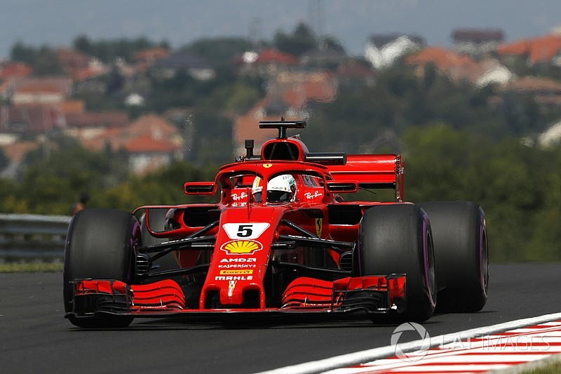 Hungarian GP: Vettel tops FP2 as Mercedes trails rivals