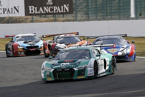 Spa 24h: Audi leads BMW after one quarter distance