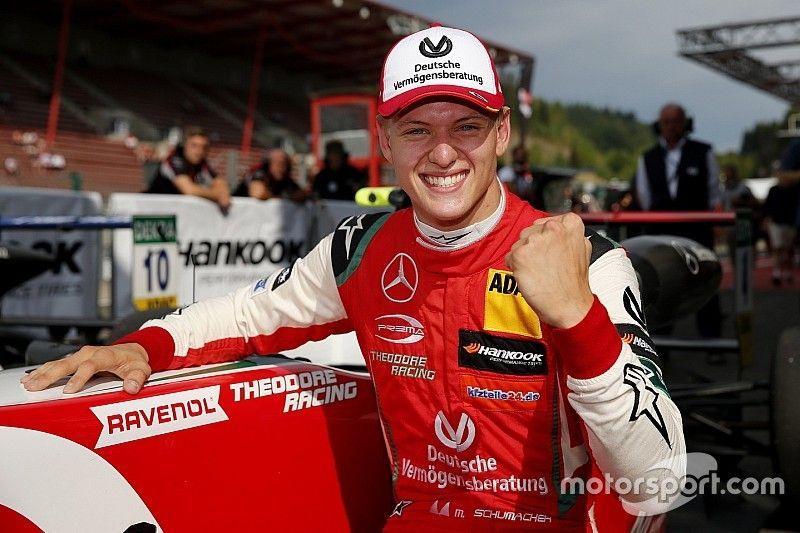 Formel 3: Mick Schumacher siegt in Spa!