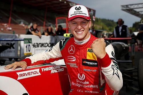 Шумахер одержал первую победу в Формуле 3