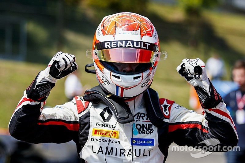 Anthoine Hubert sacré en GP3
