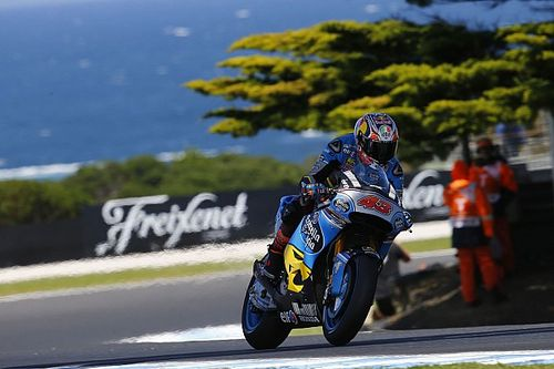 Miller's Phillip Island practice speed not affected by injury
