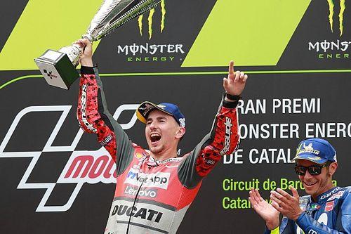 """Lorenzo ora si gode la Rossa: """"Abbiamo la Ducati più competitiva della storia"""""""