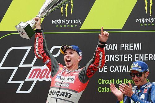 """Lorenzo a la """"Ducati la plus complète de l'Histoire"""""""