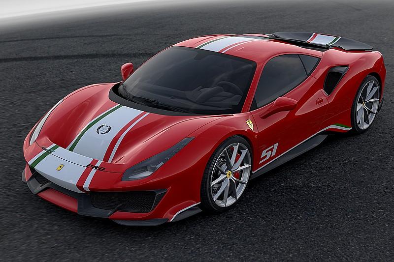 """Ferrari svela a Le Mans """"Piloti Ferrari"""", un allestimento speciale per la 488 Pista"""