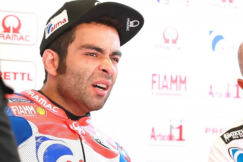 "Petrucci: ""Domani sarà difficile lottare per il podio. Lorenzo? Fa la differenza in frenata"""