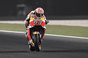 MotoGP Practice report MotoGP Qatar: Marquez puncaki warm-up, ungguli duo Ducati