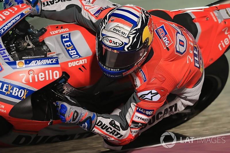 """Dovizioso: """"Me encantaría volver a jugármela con Márquez en la última curva"""""""