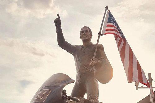 Statue in Erinnerung an Nicky Hayden in Owensboro enthüllt