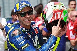 Forza Italia! Der Mugello-Helm von Valentino Rossi