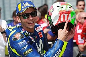 """Rossi: """"Salí en el momento justo e hice un vueltón"""""""