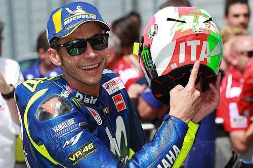 Mugello MotoGP: Rossi scores first pole since 2016