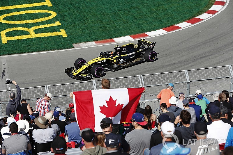 All six Renault drivers take new engines in Canada