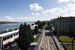 La grille de départ de l'E-Prix de Zurich