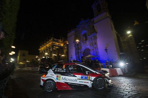 WRCメキシコ開幕。初日はヌービル首位、タナクが2番手で続く