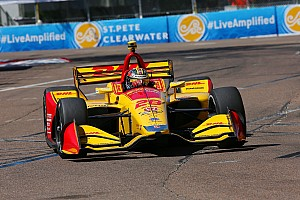 IndyCar Practice report St. Pete IndyCar: Hunter-Reay leads second session