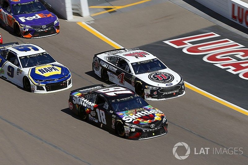 """Kyle Busch finishes second again: """"It's starting to get frustrating"""""""